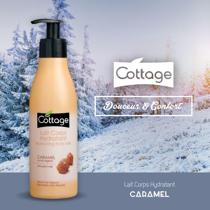 Lait Corps Hydratant Le Caramel - Cottage