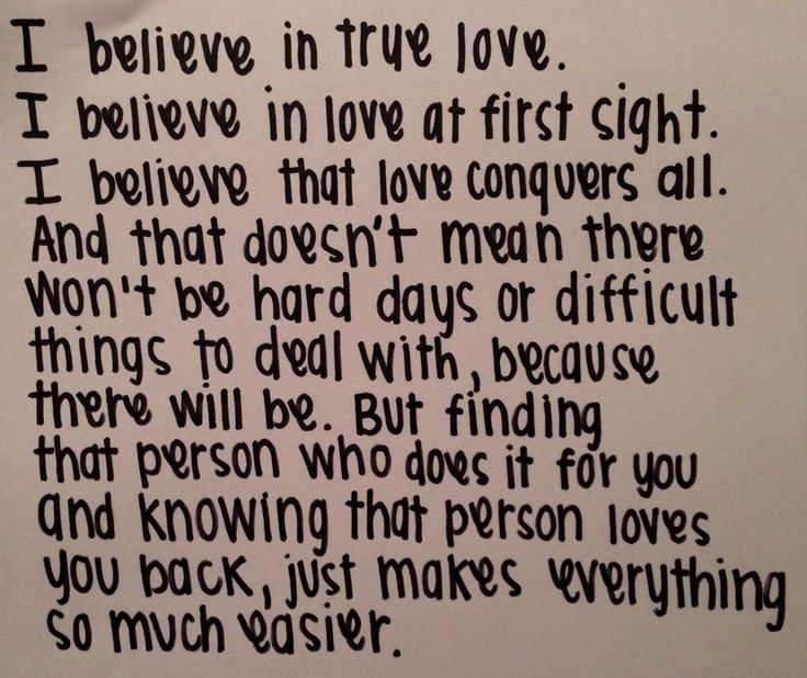 love at first sight essay