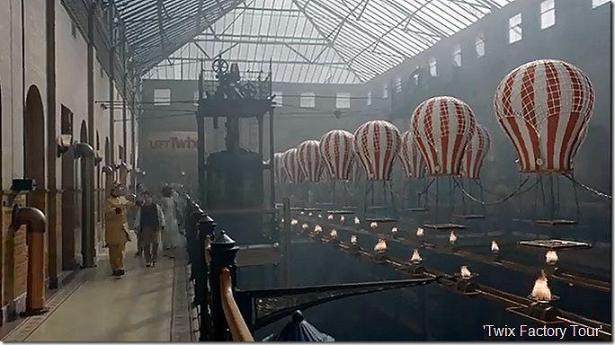 twix factory tour steampunk pinterest building