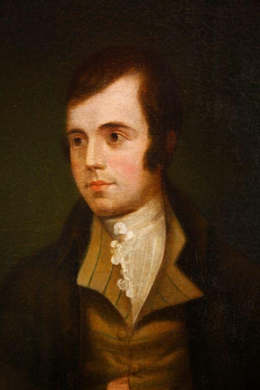 91 The Nasmyth Portrait Of Robert Burns