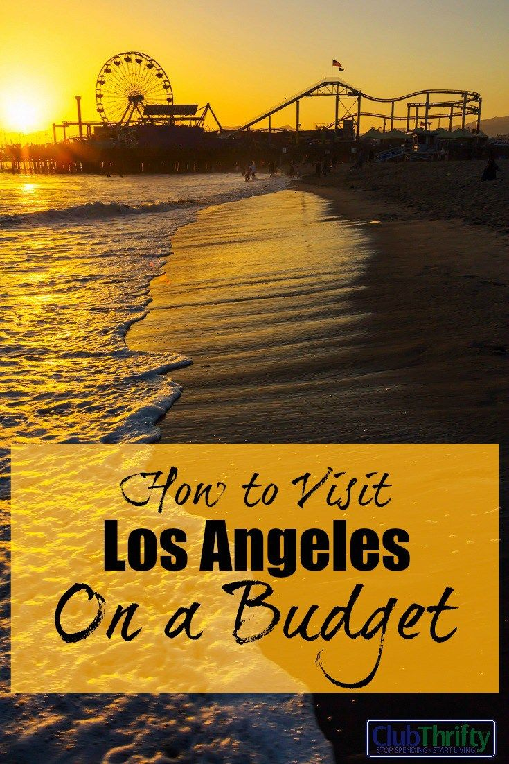 Enjoy La On A Budget (without Missing Anything Bank Checkthe
