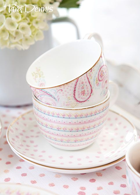 New Homewares collection from #taradennis - Paisley Collection - Taradennis.com
