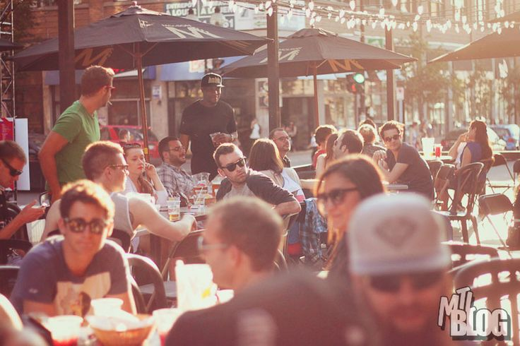 Best Montreal summer terrasses. My faves in Old Montreal are Le Jardin Nelson and Bistro Boris. Sipping wine or beer on a terrasse on Crescent Street or St. Denis is also good fun.