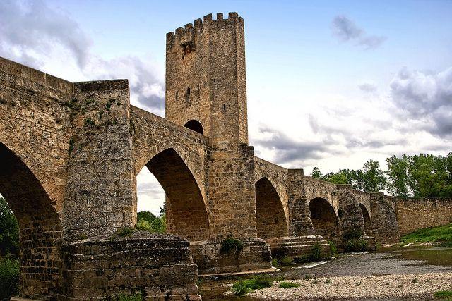 Puente medieval de Frías #Burgos