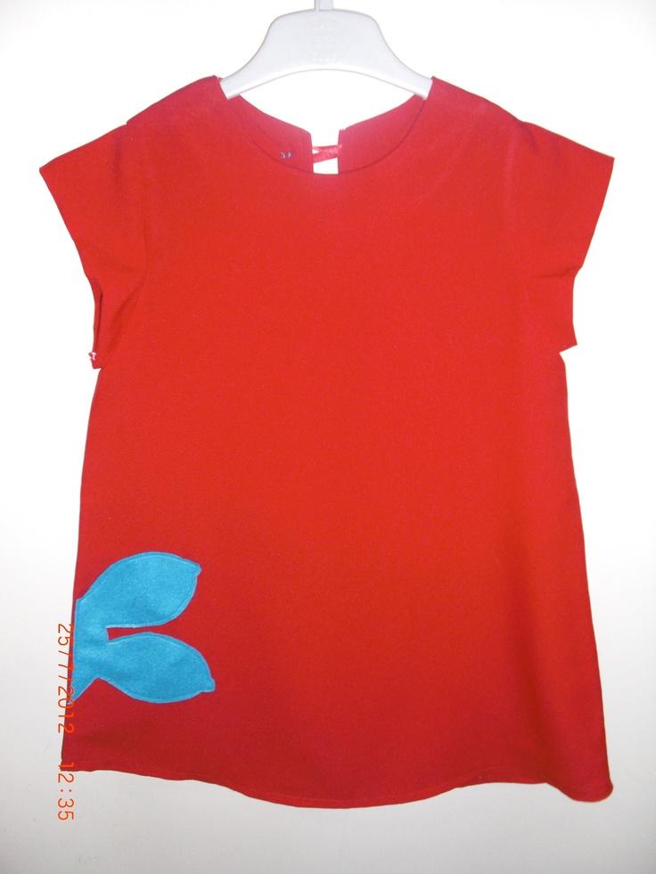 Vestido Turma da Mônica