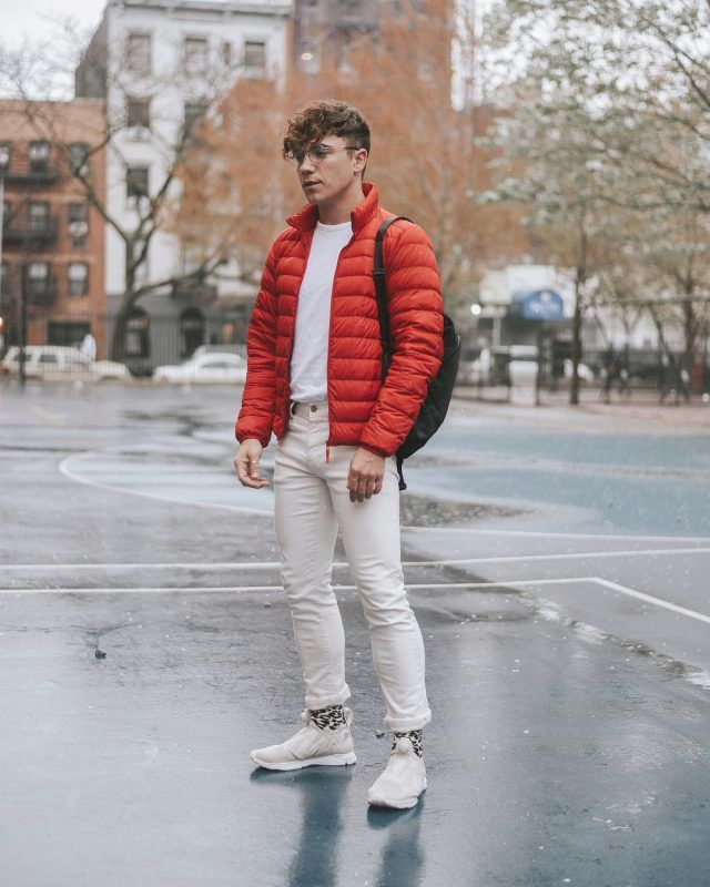 21334178b71e Men Looks · How To Pick The Best Puffer Jacket Under  100. Red puffer jacket