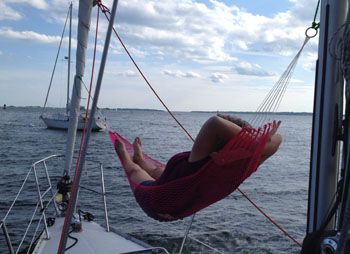 A Hammock- 1 of 10 Cool Things to Take on Your Summer Cruise | Sail Magazine