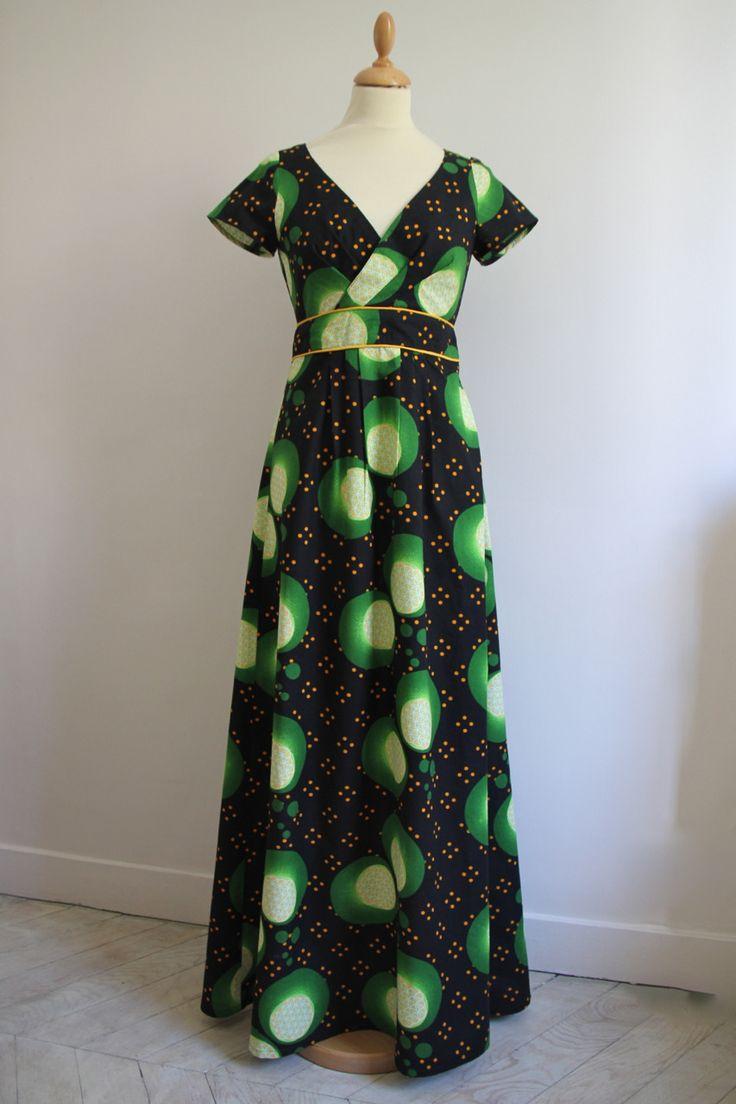 les 25 meilleures id es de la cat gorie robe wax longue sur pinterest jupe africaine couture. Black Bedroom Furniture Sets. Home Design Ideas