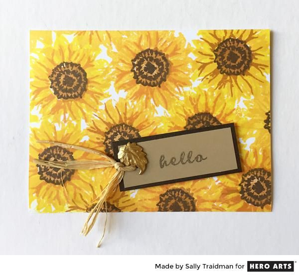 My Monthly Hero: Creativity in a Box September 2017 kit idea #1 by Sally Traidman. Kit and add-ons available for purchase Tuesday, September 5. #mymonthlyhero