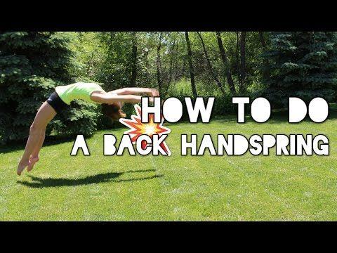 25 Best Ideas About Back Handspring On Pinterest