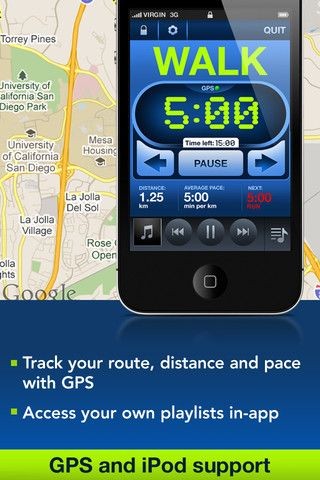 Couch-to-5K by The Active Network, Inc.:   WIinner of the 2012 Appy Award for best Healthcare & Fitness App! Easy to use, helps new runners avoid injury from doing too much, too soon. #App #Running #Couch_to_5K