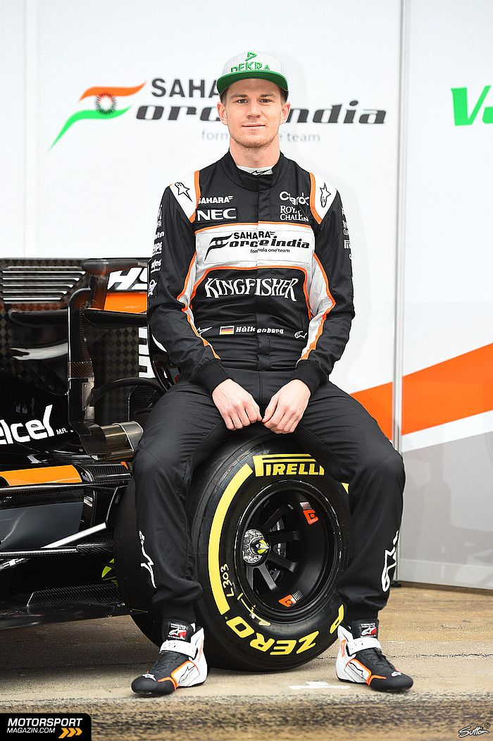 Formel 1 2016, Präsentationen, Nico Hülkenberg, Force India, Bild: Sutton