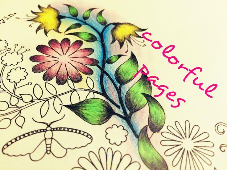 Secret Garden Coloring Book Page 39