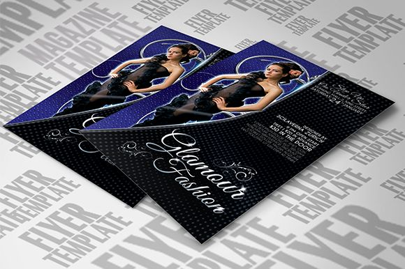 I just released Glamour Fashion Flyer Template on Creative Market.