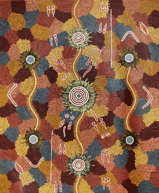 Untitled by Morris Wako Jungala on Marrang Art