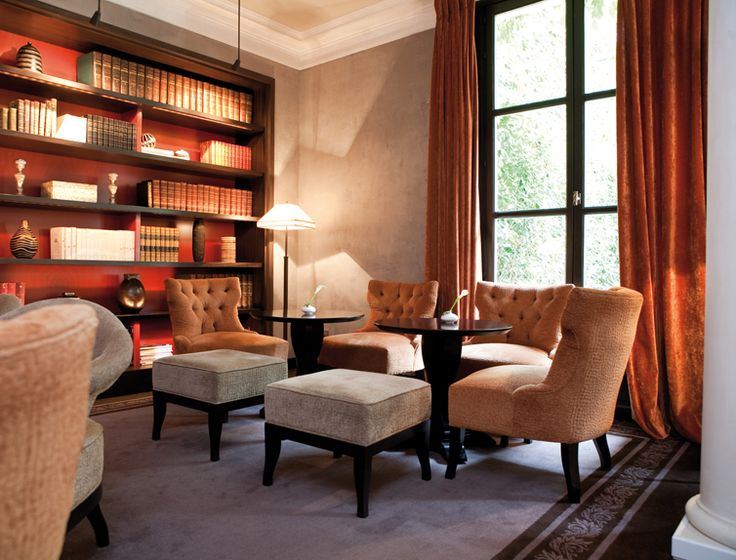 Kerylos Interieurs | LE PAVILLON DE LA REINE Hospitality - Hotel Design - Hotel Interior Design #hotels #Hospitalityfurniture #hoteldesigners See more inspirations at http://brabbucontract.com/projects.php