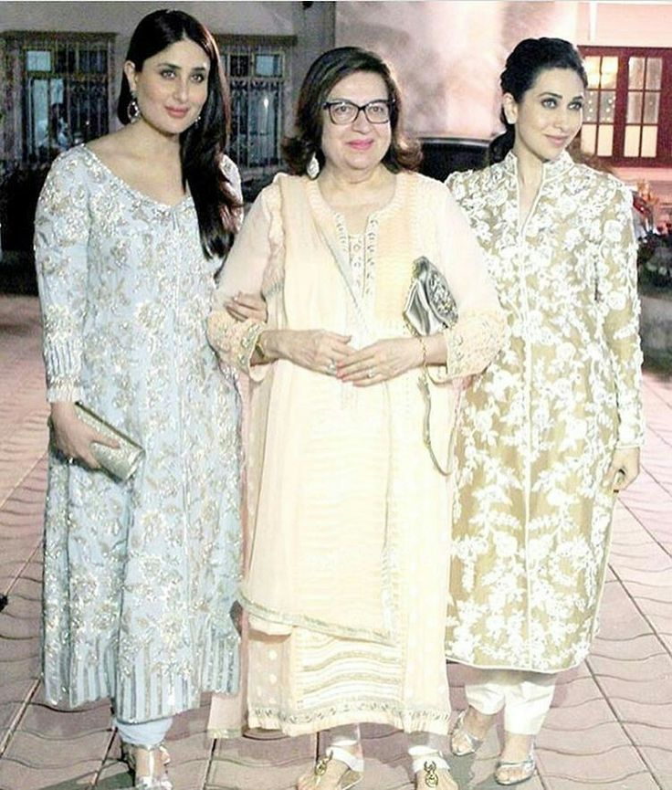 Kareena, Karisma and Babita looked absolutely stunning at Randhir Kapoor's 70th birthday!