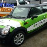 Auckland Display Signs always deliver corporate fleet rebinding with a speedy service in whole nationwide. In this graphic image the vehicle like car is used to promote the business of Herbalife. Source: http://www.aucklanddisplaysigns.co.nz/services/vehicle-graphics/