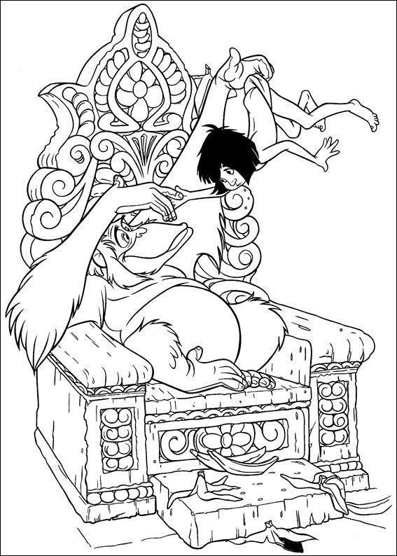 El Libro De La Selva 14 Dibujos Faciles Para Dibujar Para Ninos Colorear Ausmalbilder Ausmalen Disney Malvorlagen