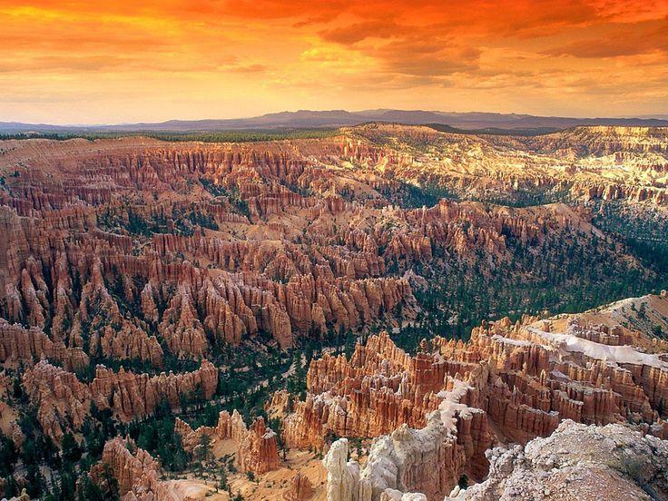 ブライスキャニオン国立公園(アメリカ、ユタ州) 壁紙