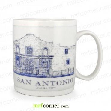 SM080 18oz Starbucks USA San Antonio City Mug