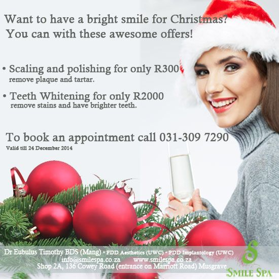 Transform your smile this Christmas