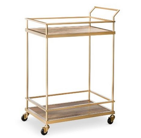Threshold Gold Bar Cart | 33 Genius Gifts You Didn't Know You Could Buy At Target