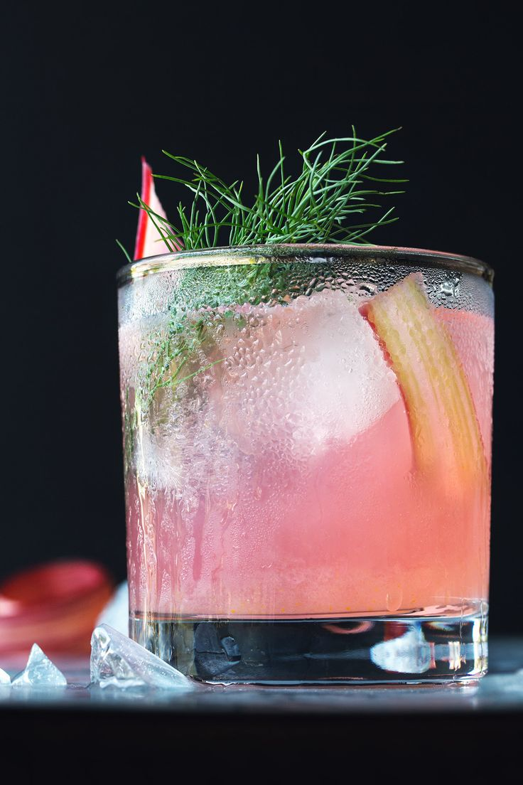 Rhubarb, Fennel & Vermouth Cocktail | HonestlyYUM (honestlyyum.com)