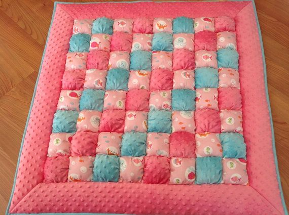 Bubble Quilt Puff Quilt Biscuit Quilt Bubble Blanket by LuvinKatie