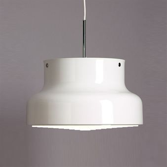 White bumling lamp for kitchen
