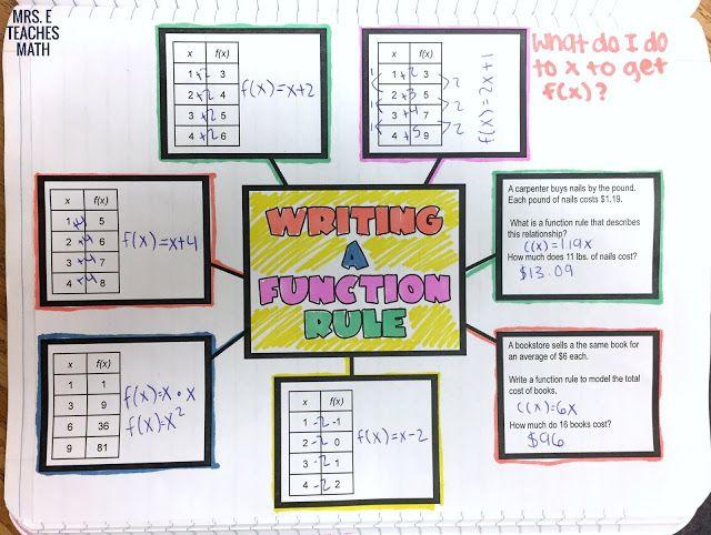write a math function