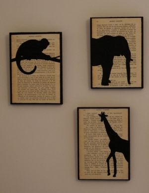 diy wall art idea by Kerri
