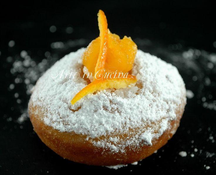 Bomboloni alla crema di arancia senza glutine | Arte in Cucina