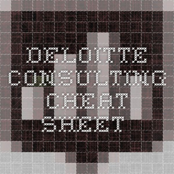 how to get into deloitte consulting