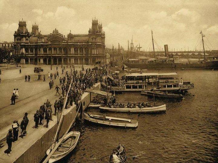Port de Barcelona 1915