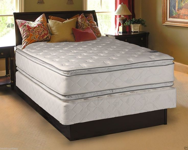 glory double pillow top 20 year warranty box
