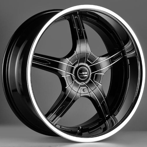 falken lx 55 in black reversecnc with a chrome lip wheels rims pinterest wheels. Black Bedroom Furniture Sets. Home Design Ideas