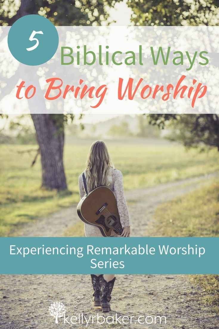 One of the definitions of worship is akin to a dog licking his owner's hand. How's that for a word picture? (Don't worry; you don't have to lick God's hand like a dog.)But the Bible talks about expression and demonstrationin worship! We are going to explore that in this post. #thrive #thrivinginworship #instruments #church #churchservice #godtime #devotional