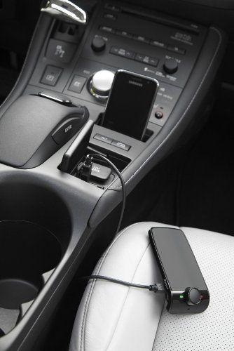 Parrot MINIKIT Bluetooth Portable + kit manos libres para teléfonos móviles, teléfonos inteligentes y el iPhone de Apple