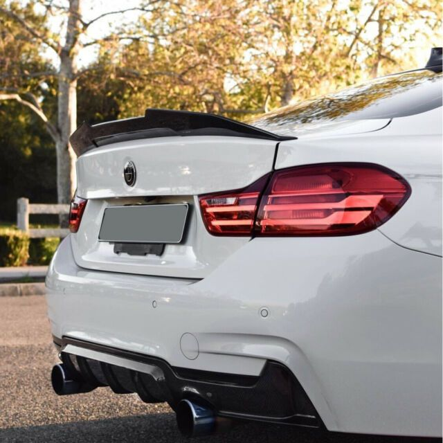 Bmw F30 F80 M3 Sedan Psm Style Carbon Fiber Rear Trunk Spoiler