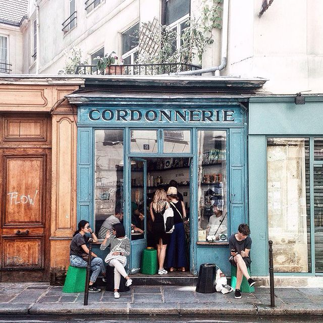 On Your Next City Stroll, Stop by These Classic Parisian Shops   Boot Cafe   FATHOM