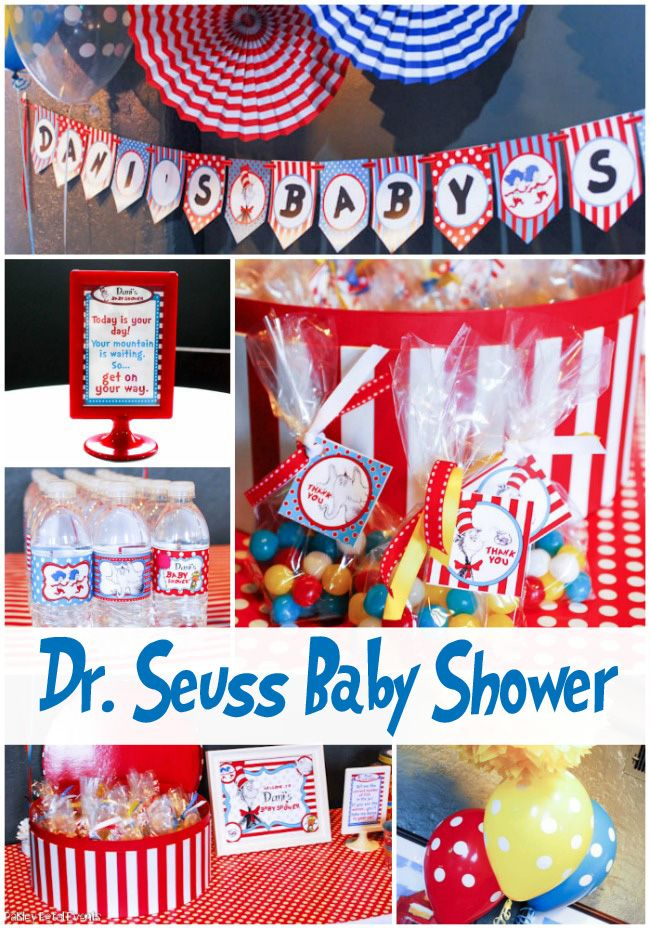Dr. Seuss baby shower ideas at Paisley Petal Events