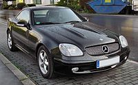 Mercedes SLK 320 Facelift 20090904 front.JPG