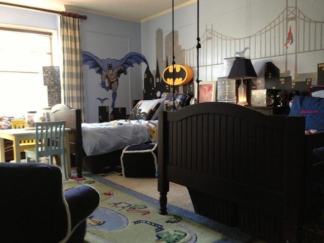 Boys Bedroom Ideas Superhero 45 best boys' bedroom images on pinterest | batman bedroom