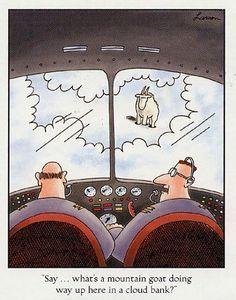 Farside ~ Pilot Humor