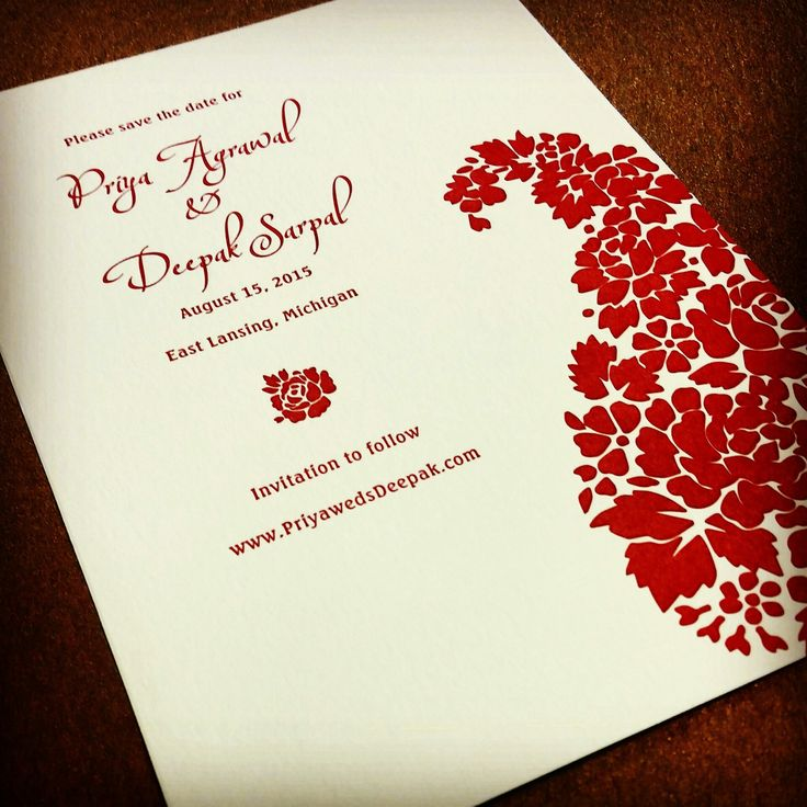186 Best Invitation Style South Asian Images On Pinterest