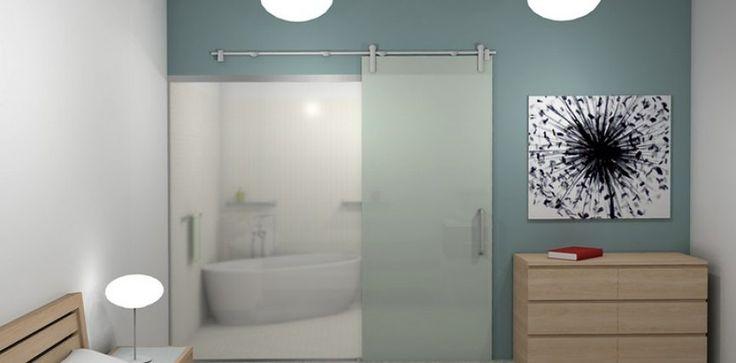 Стъклена врата за баня – 5 причини да я изберете