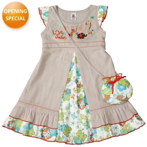 Flower Burst Dress