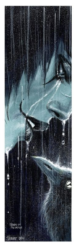 The Crow  Tears In The Rain  - James O'Barr.