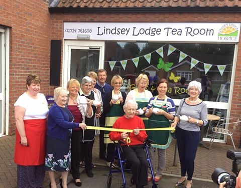 We please to announce Ross Hudders opened the LINDSEY Lodge Scotter TeaRoom today. Why not pop along and take a look.